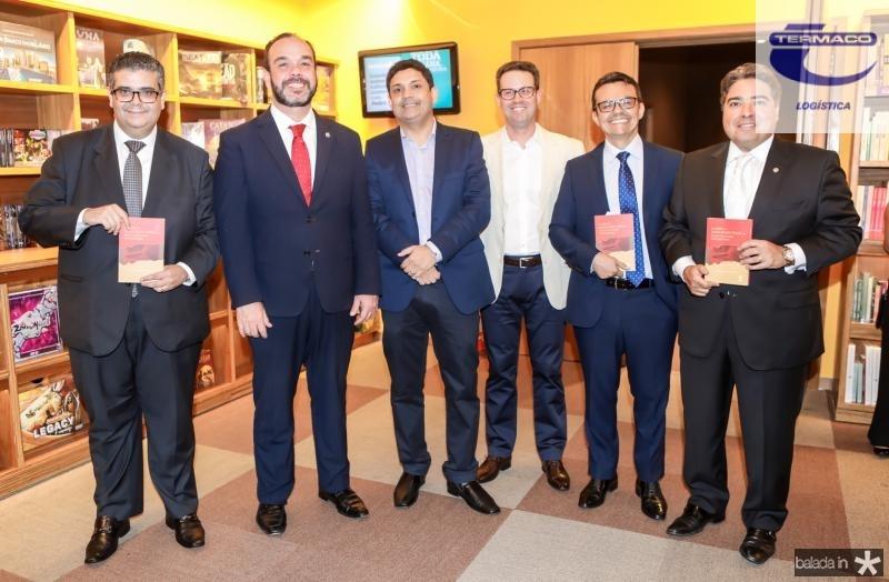 Ademar Mendes, Waldir Xavier, Bruno Queiroz, Nestor Santiago, Henrique Lavour e Leandro Vasquez