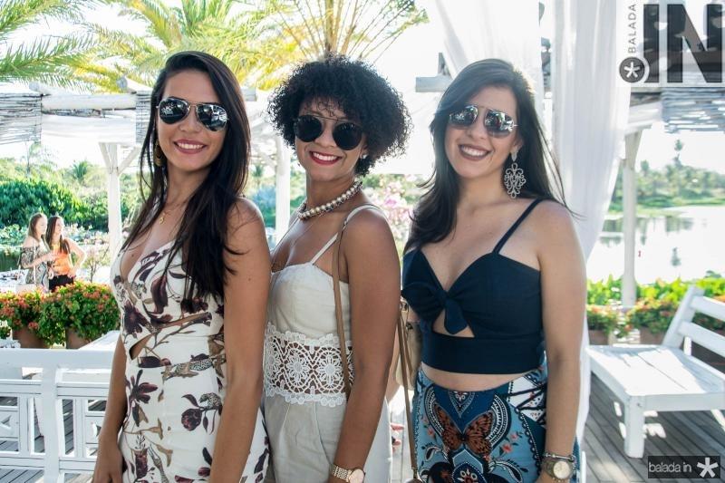Leticia Setubal, Raquel Nascimento e Taise Barbosa