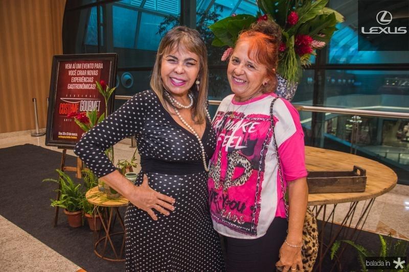 Selma Cabral e Fatima Duarte