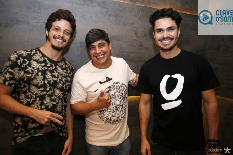 Thiago Symbal, Rodrigo Filing e Wagner Farias