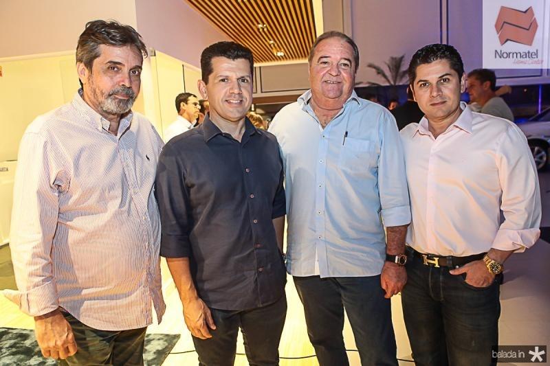 Totonho Laprovitera, Erick Vasconcelos, Chiquinho Aragao e Pompeu Vasconcelos