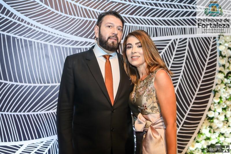 Elinaldo e Leda Diniz
