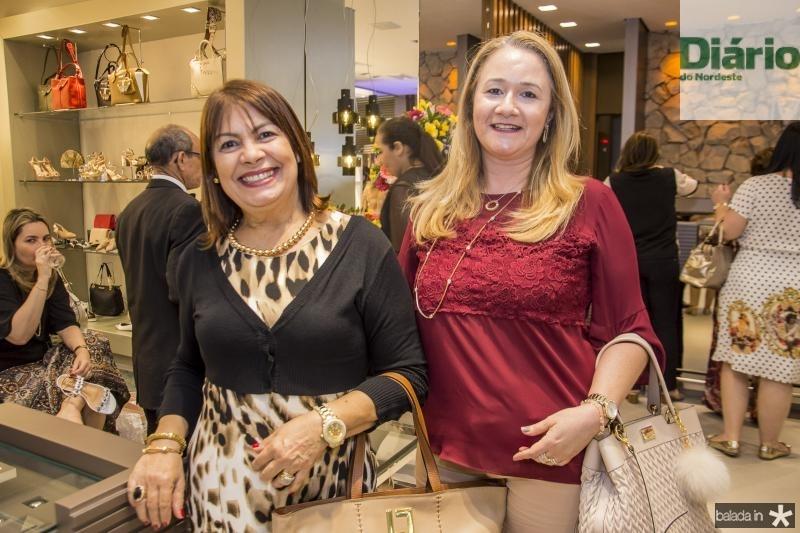Fatima Aguiar e Ana Celia Macedo