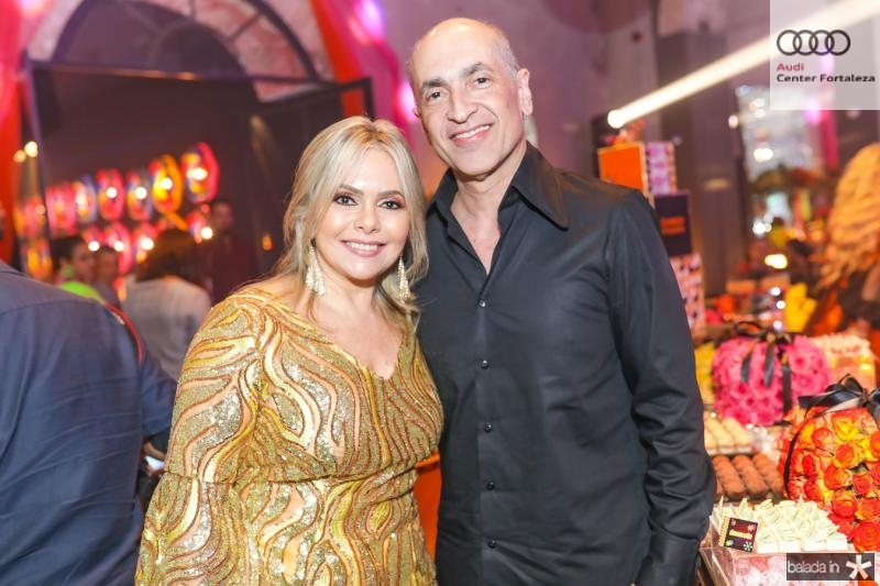 Claudia e Mario Jorge Menescal