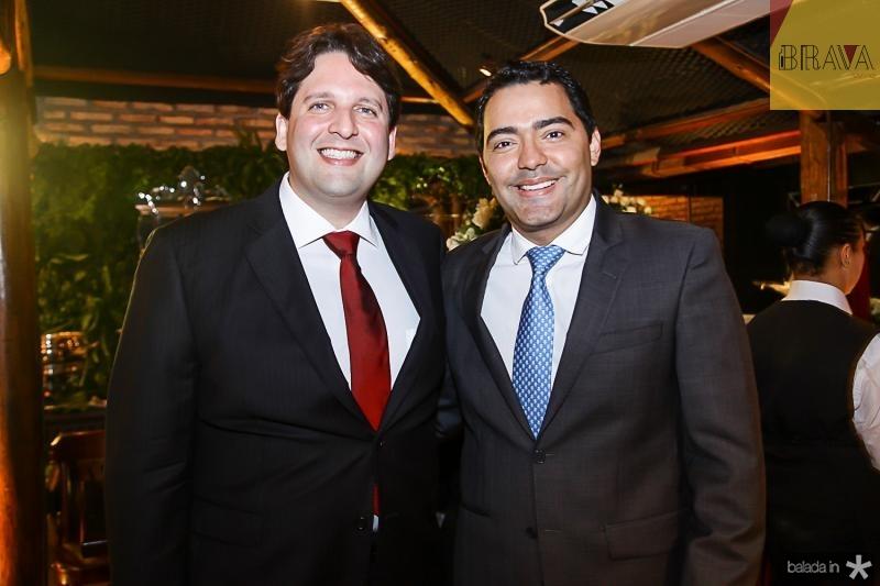 Daniel Simoes e Andre Laprovitera