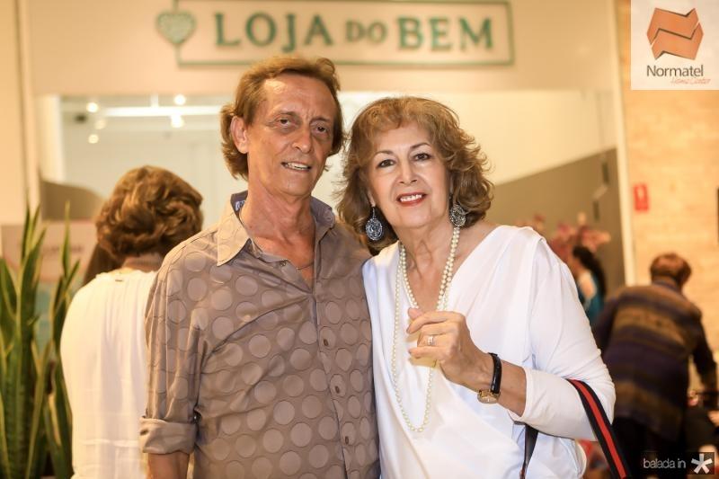 Cabeto Carvalho e Ines Romano