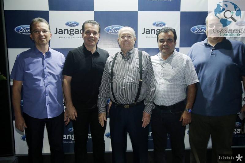 Marco Oliveira, Leo Dallolio, Edson Ventura, Edmar Feitosa e Eduardo Correa