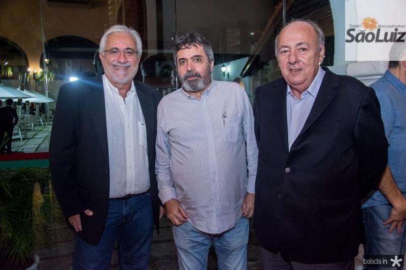 Fernando Rossas, Totonho Laprovitera e Luis Santos