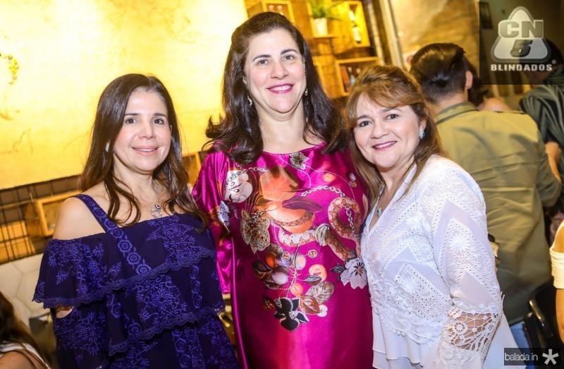 Maria Lucia Negrao, Maria Jose Jereissati e Nekita Romcy