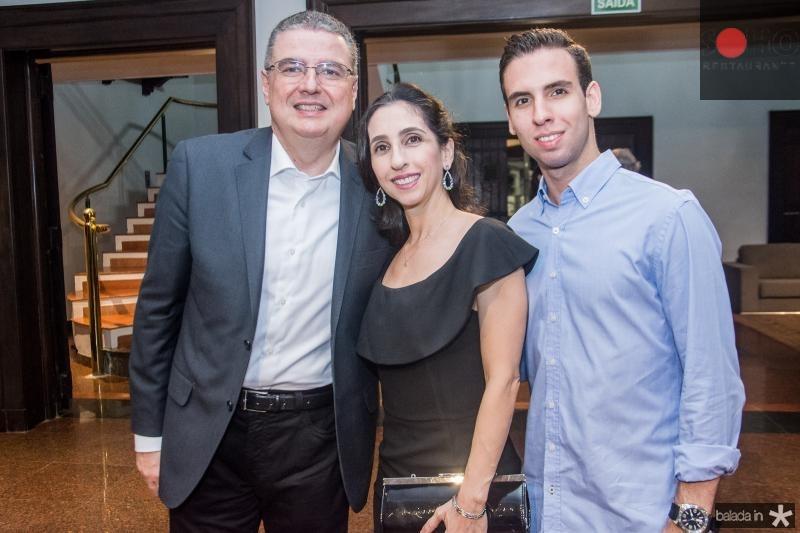 Luis Fernando, Jovania e Joao Luis Mota