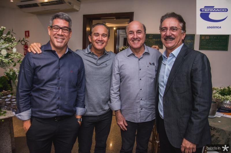 Cid Holanda, Claudio Brasil, Silvio Frota e Helder Montenegro