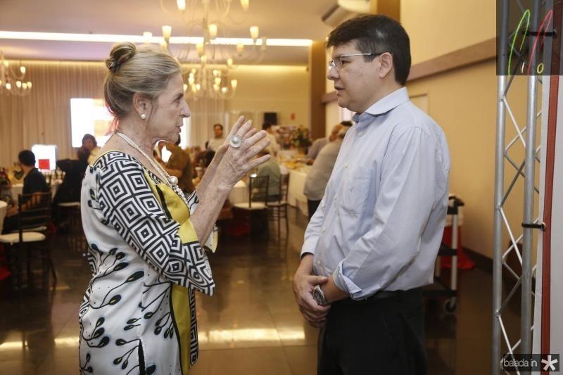 Anya Ribeiro e Silvio Carlos