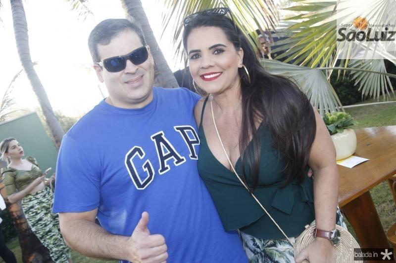 Marcio Almeida e Gemana Joia