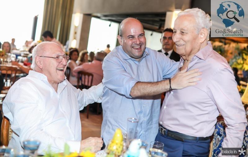Luis Marques, Roberto Claudio e Humberto Bezerra