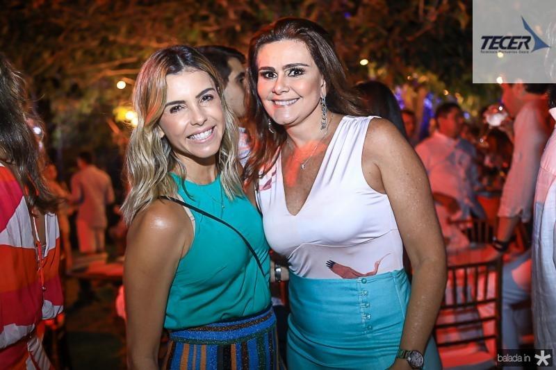 Liliana Diniz e Ivana Bezerra