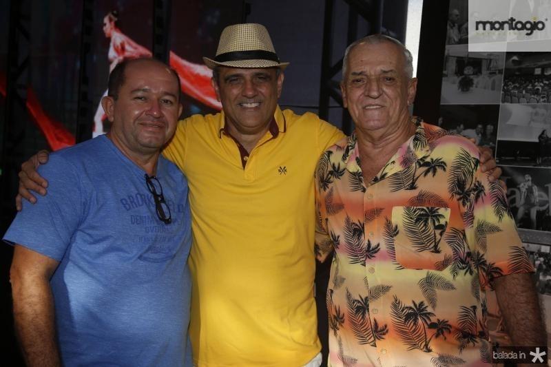 Ricardo Freitas, Andre Vercosa e Tadeu Gomes