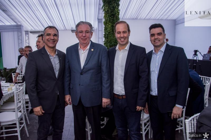 Eduardo Levi, Ricardo cavalcante, Cesar Ribeiro e Felipe Rocha