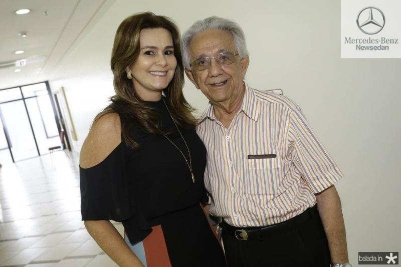 Ivana Bezerra e Elias Salomao