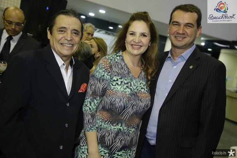 Luiz Carlos Castelo, Enid Camara e Josbertine Clementino