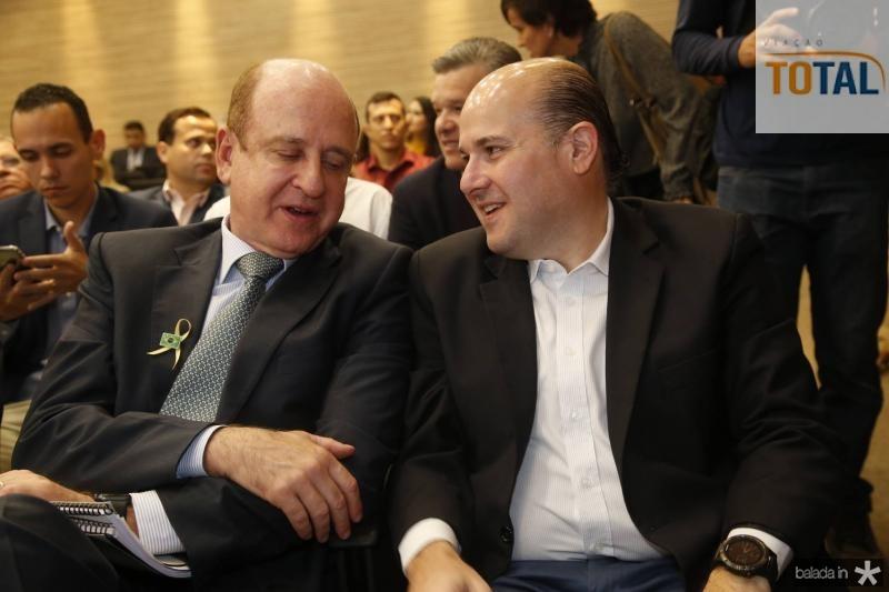 Benjamin Zimler e Roberto Claudio