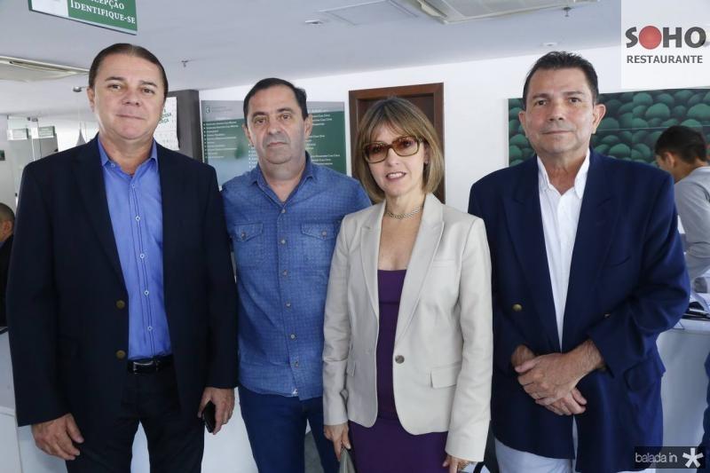 Eliseu Barros, Valdo Mesquita, Circe Jane e Fernando Castro Alves