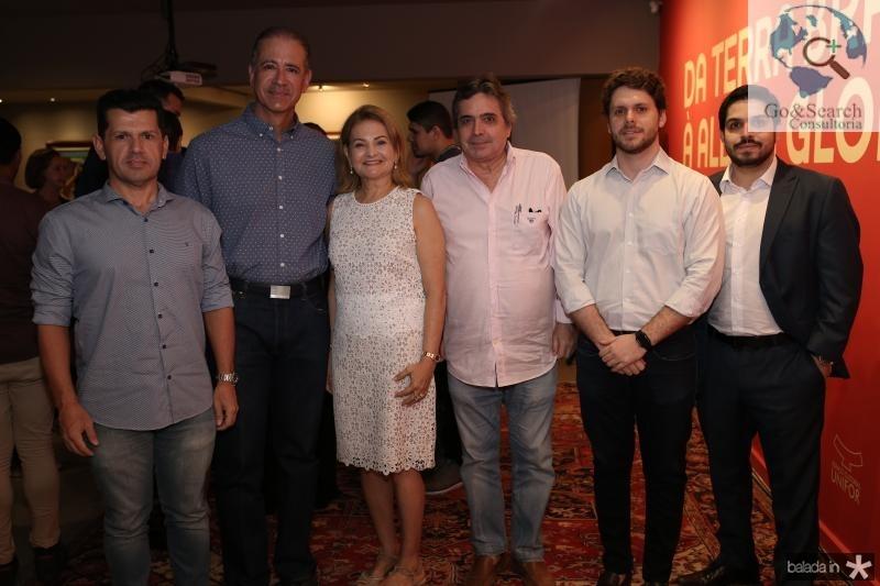 Erick Vasconcelos, Regis Medeiros,Lenise Rocha,Victor Perlingeiro e Fernando Laprovitera