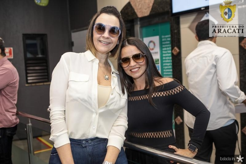 Mirian Pereira e Dana Nunes