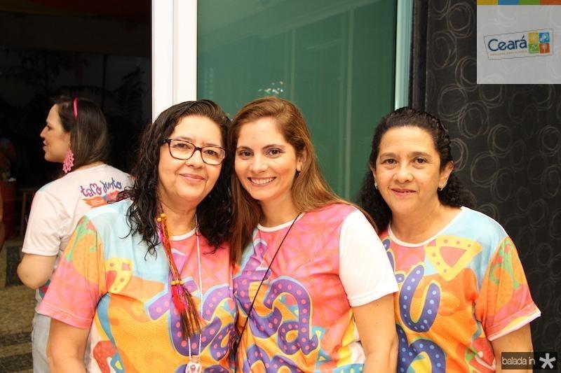 Mary Freitas, Joelma Leal e Tereze Neuman