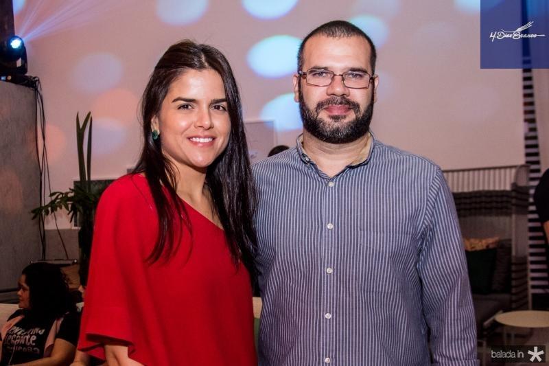 Giovanna Ramalho e Bruno Cabral