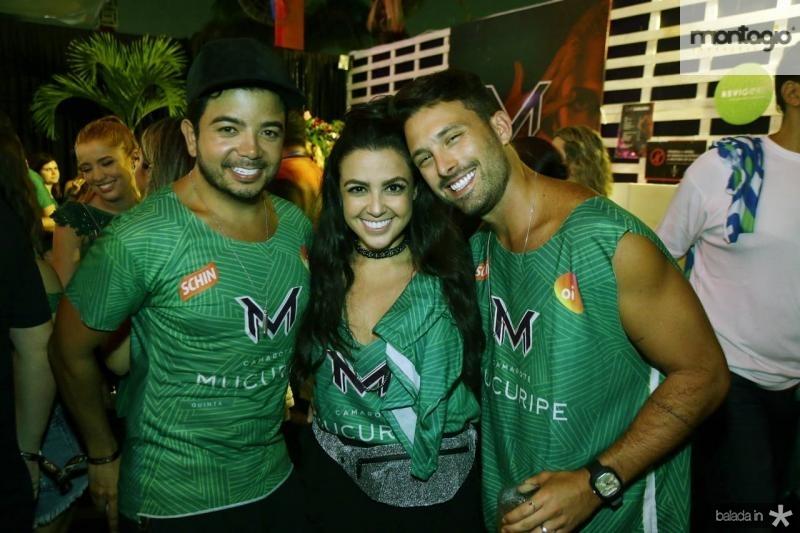 Rafa Gualberto, Manu Campos e Thiago Maciel