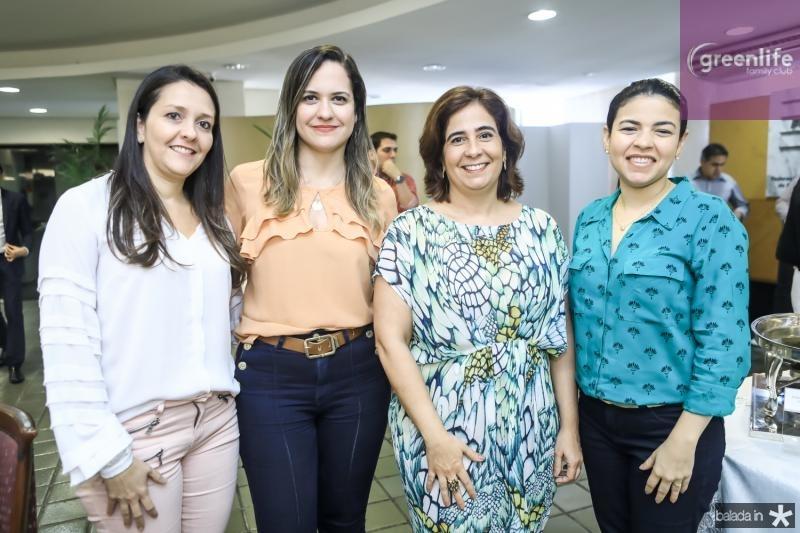 Raquel Vasconcelos, Juliana Guimaraes, Ana Xavier e Germana Medeiros