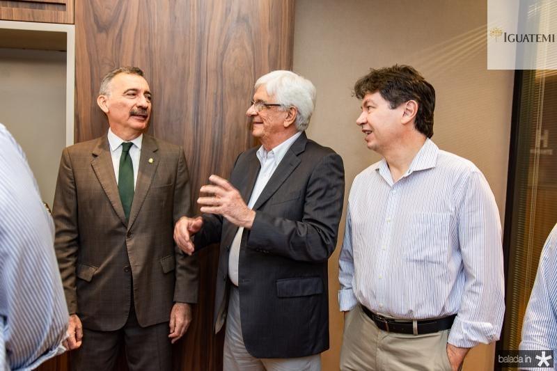Artur Bruno, Assis Machado e Edgar Gadelha