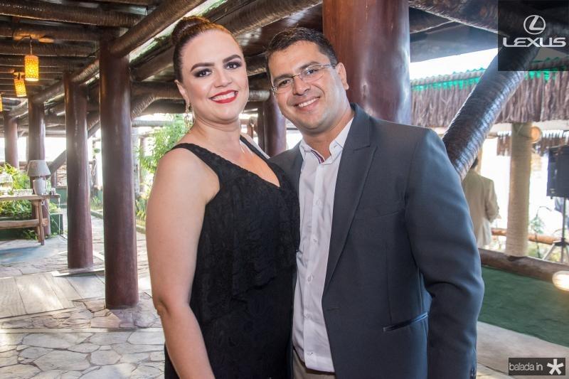 Andrea Anfrizio e Rodger Lima