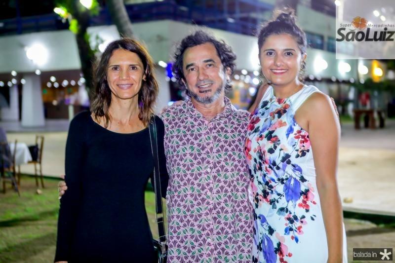 Veronica Cavalcante, Nanego Lira e Barbara Cariri