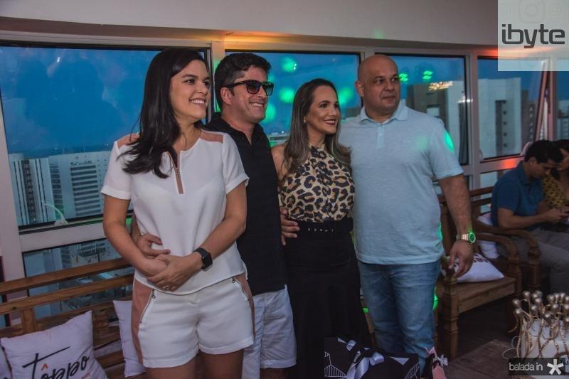 Carol Feitosa, Joao Paulo Rolim, Juliana Sa e alexandre Arruda