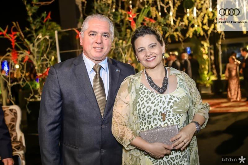 Oswaldo e Cristina Vieira