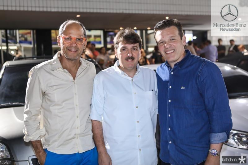 Mano Alencar, Francisco e Ferruccio Feitosa