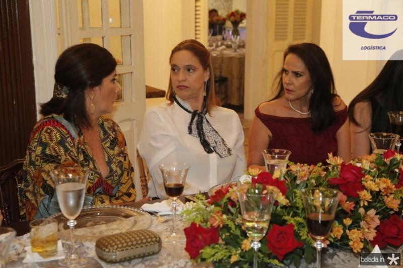 Marcia Aguiar, Ana Claudia Canamary e Katherine Ary