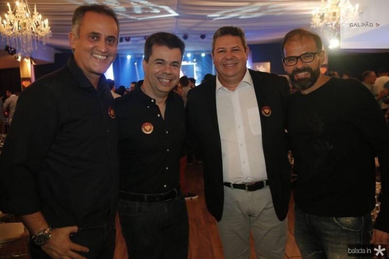 PH Donato, Duda Brigido, Bob Santos e Andre Mota
