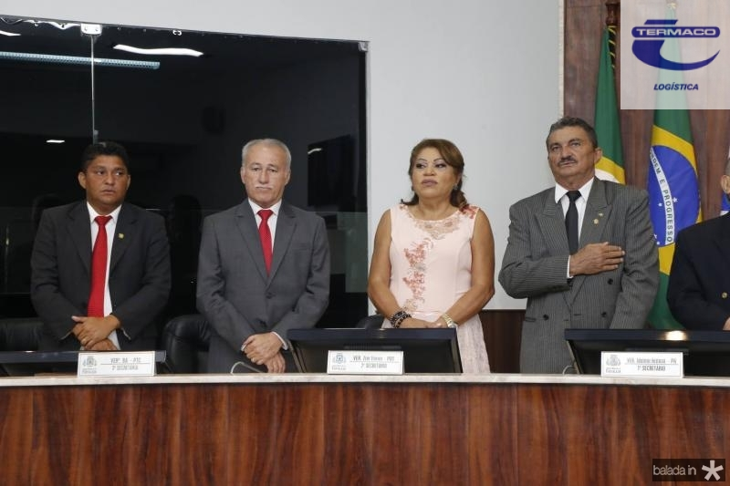 John Monteiro, Casimiro Neto, Lucimar Martins Bah e Zier Ferrer