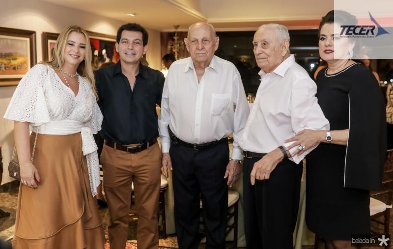 Lorena Gazineu, Claudia Arcurio, Gen Gazineu, Adauto e Silvana Bezerra