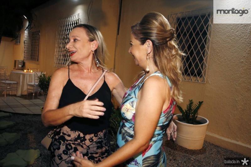 Glaubete Bezerra e Simone Cardoso