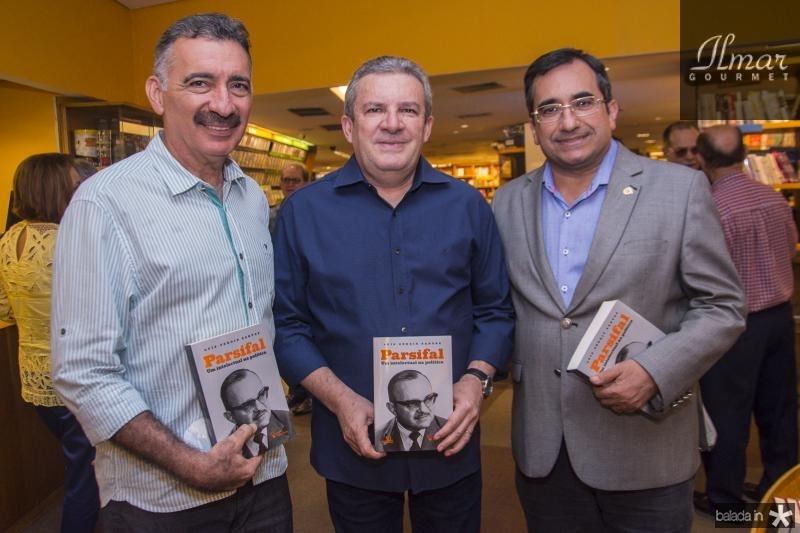 Artur Bruno, Jaime Cavalcante e Jardson Cruz