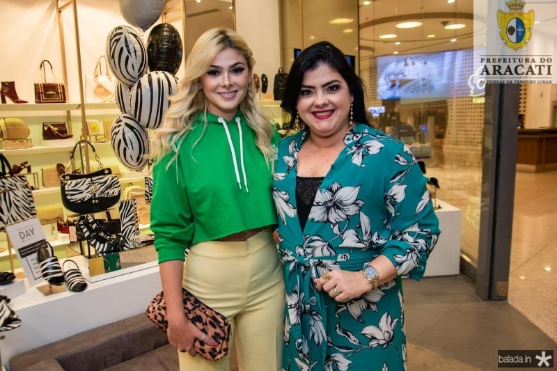 Natasha Brigido e Viviane Almada