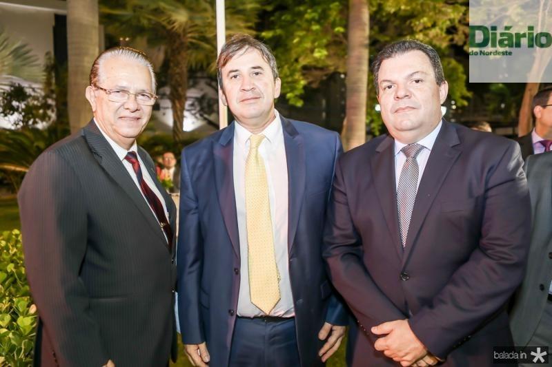 Jose Valdo, Regis Botelho e Fernando Ferrer