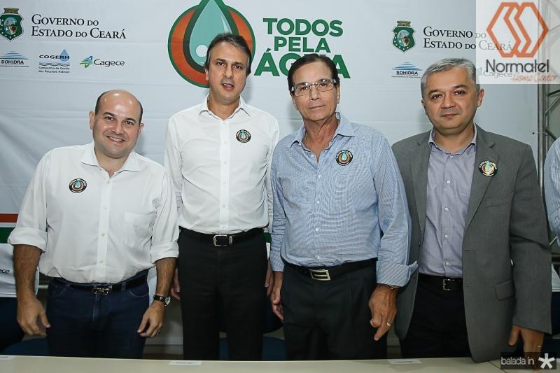 Roberto Claudio, Camilo Santana, Beto Studart e Neuri Freitas
