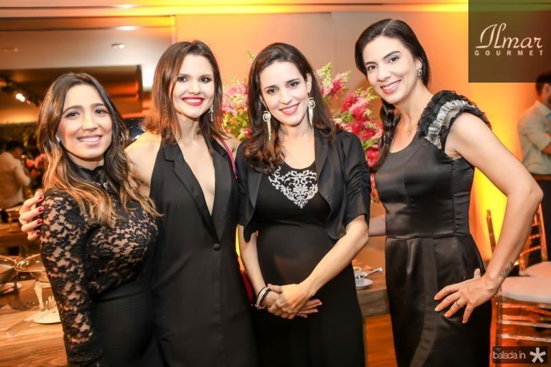 Renata Marinho, Marissa Prudente, Bruna Pontes e Luciana Otoch