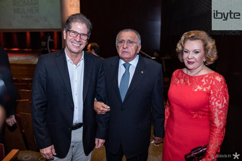 Severino Ramalho Neto, Joao Carlos Paes Mendonca e Auxiliadora Paes Mendonca