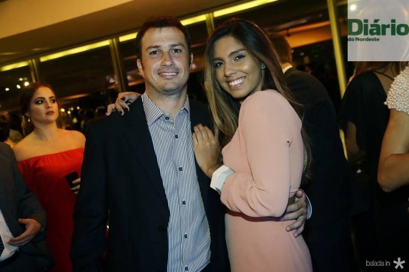Miguel Nascer e Amanda Falbo