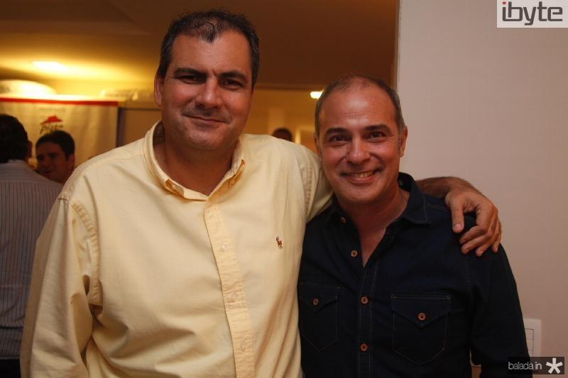Alexandre Sales e Marcos Novais